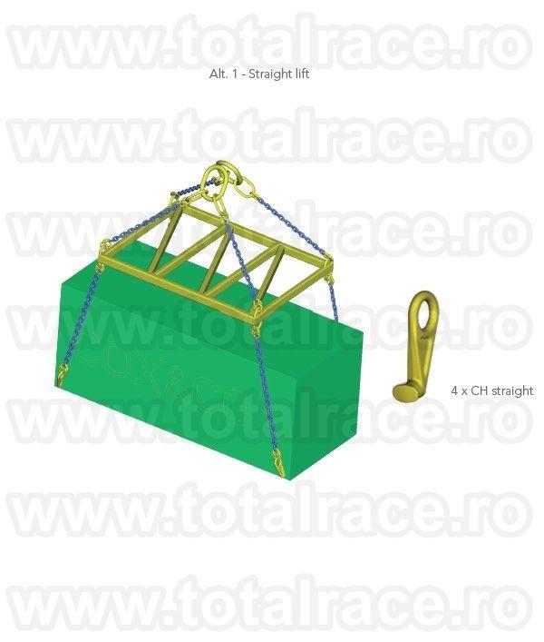 Carlig elefant ridicari containere