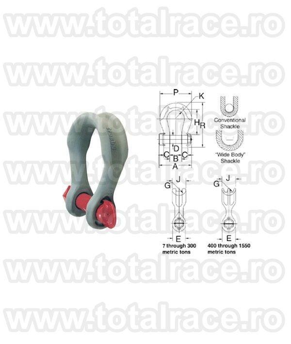 Cheie tachelaj / Gambeti / Shackles model G2160