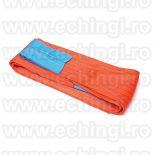 Chingi textile de ridicare  cu urechi model MC 300 - 10 tone L= 10m