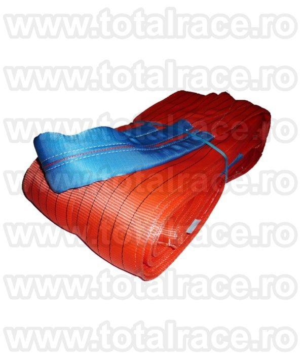 Chingi textile de ridicare  cu urechi model MC 300 - 10 tone L= 6m