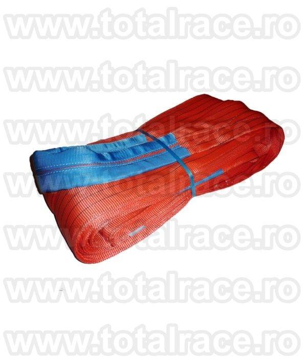 Chingi textile de ridicare  cu urechi model MC 300 - 10 tone L= 8m