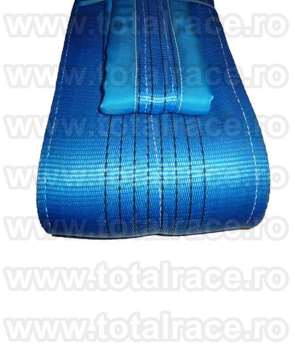 Chingi textile de ridicare  cu urechi model MC 240 - 8 tone L= 3 m