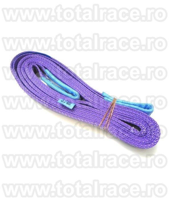 Chingi textile de ridicare  cu urechi model MC 50 - 1 tona