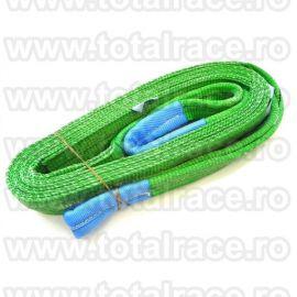 Chingi textile ridicare cu urechi model MC 60 - 2 tone 10m
