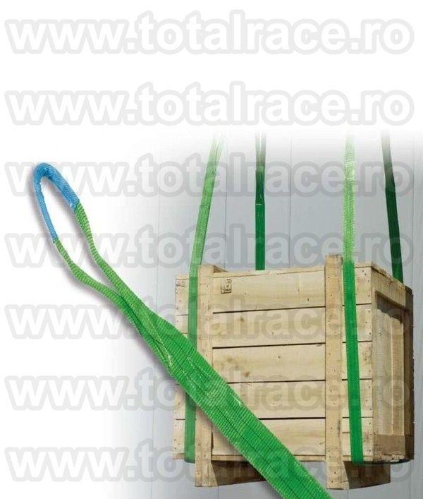 Chinga textila cu urechi MC 60 capacitate 2 tone , latime banda 60 mm , lungime 1.5 metri