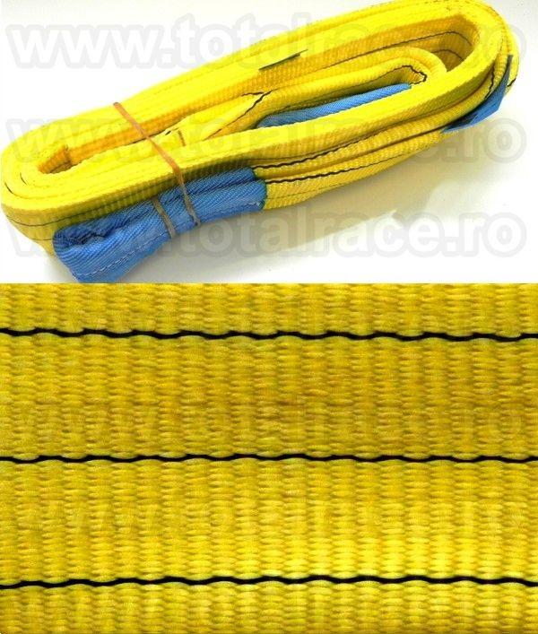 Chingi textile ridicare cu urechi model MC 90 - 3 tone 3m