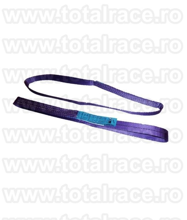 Chinga textila circulara plata ridicare model MCEE 30 - 1 tona 1.5 m