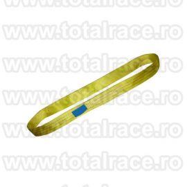 Chinga textila circulara plata ridicare model MCEE90 3 tone L= 1 m