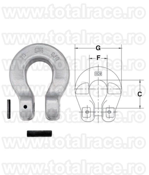 S1325A  Grade 100 Chain Coupler