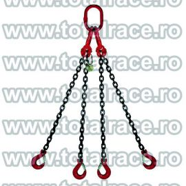 Dispozitiv de ridicare din lant cu 4 brate 16 mm 3 m