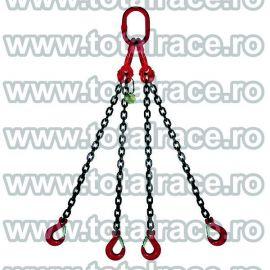 Dispozitiv de ridicare din lant cu 4 brate 7 mm 5 m