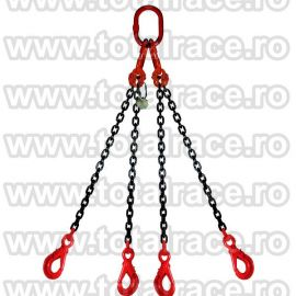 Dispozitiv de ridicare din lant cu 4 brate
