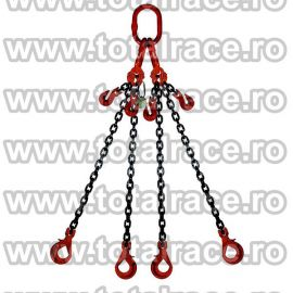 Dispozitiv de ridicare din lant cu 4 brate 10 mm