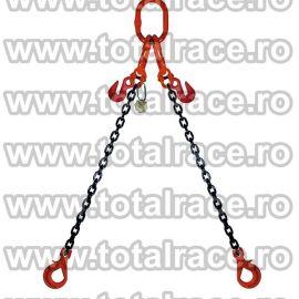 Dispozitiv de ridicare din lant cu 2 brate 13 mm 2 m