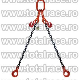 Dispozitiv de ridicare din lant cu 2 brate 13 mm 6 m