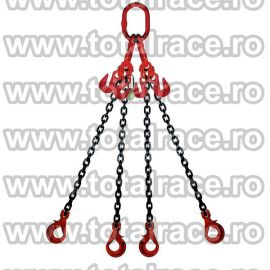 Dispozitiv de ridicare din lant cu 4 brate 7 mm 1 m