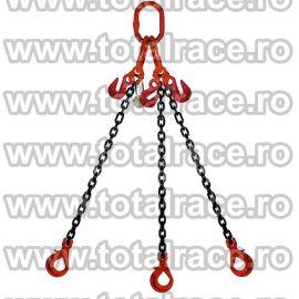 Dispozitiv de ridicare din lant cu 3 brate 7 mm 4 m