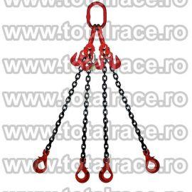 Dispozitiv de ridicare din lant cu 4 brate 7 mm 2 m