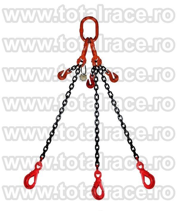 Dispozitiv de ridicare din lant cu 3 brate 13 mm 5 m