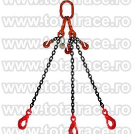 Dispozitiv de ridicare din lant cu 3 brate 6 mm 7 m