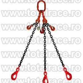 Dispozitiv de ridicare din lant cu 3 brate 6 mm 1 m