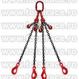 Dispozitiv de ridicare din lant cu 4 brate 6 mm 1.5 m