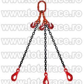 Dispozitiv de ridicare din lant cu 3 brate 6 mm 10 m