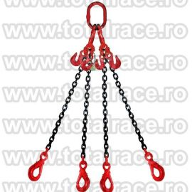Dispozitiv de ridicare din lant cu 4 brate 10 mm 2.5 m