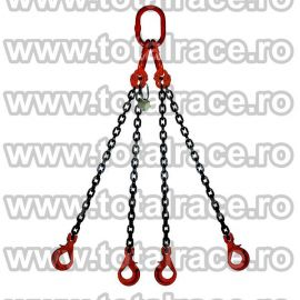 Dispozitiv de ridicare din lant cu 4 brate 10 mm 1 m
