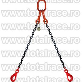 Dispozitiv de ridicare din lant cu 2 brate