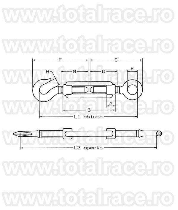 Intinzator cablu Art.162 Ochi-Carlig