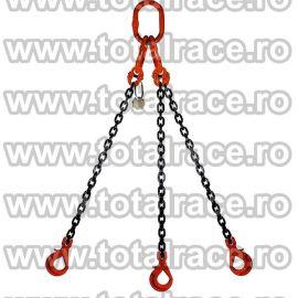 Dispozitiv de ridicare din lant cu 3 brate 16 mm 8 m