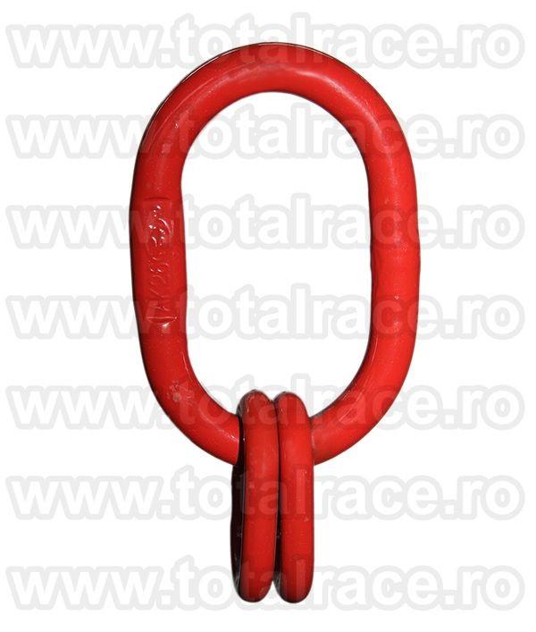Dispozitiv de ridicare din lant cu 3 brate 7 mm 1 m
