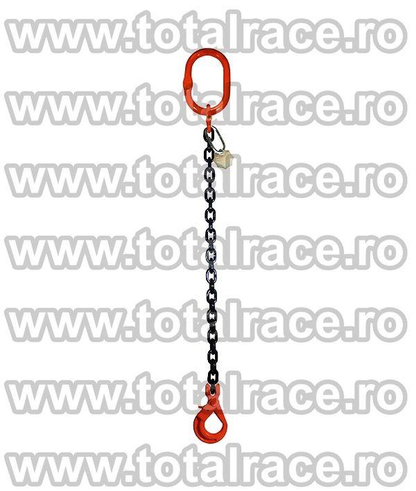 Dispozitiv de ridicare din lant cu 1 brat 13 mm 8 m