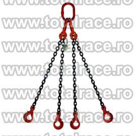 Dispozitiv de ridicare din lant cu 4 brate 16 mm 9 m