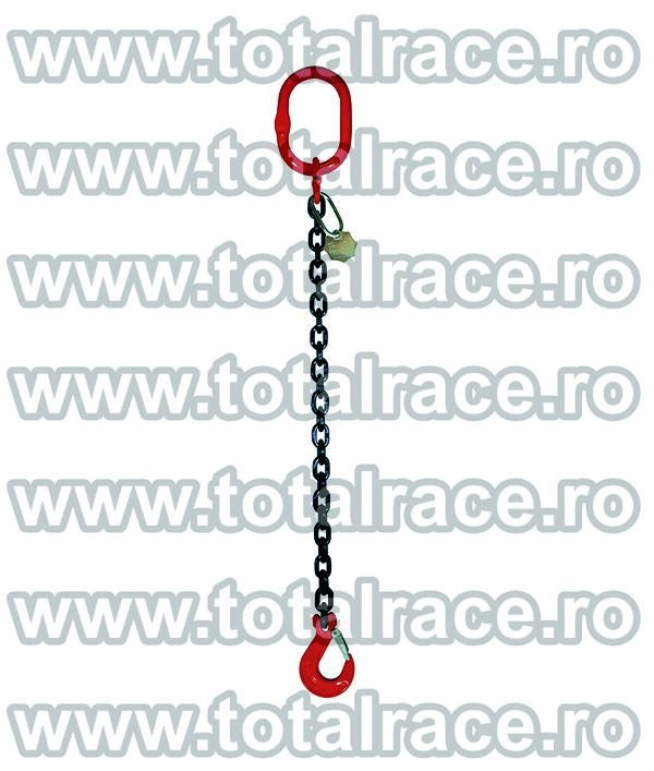 Dispozitiv de ridicare din lant cu 1 brat 8 mm 2 m