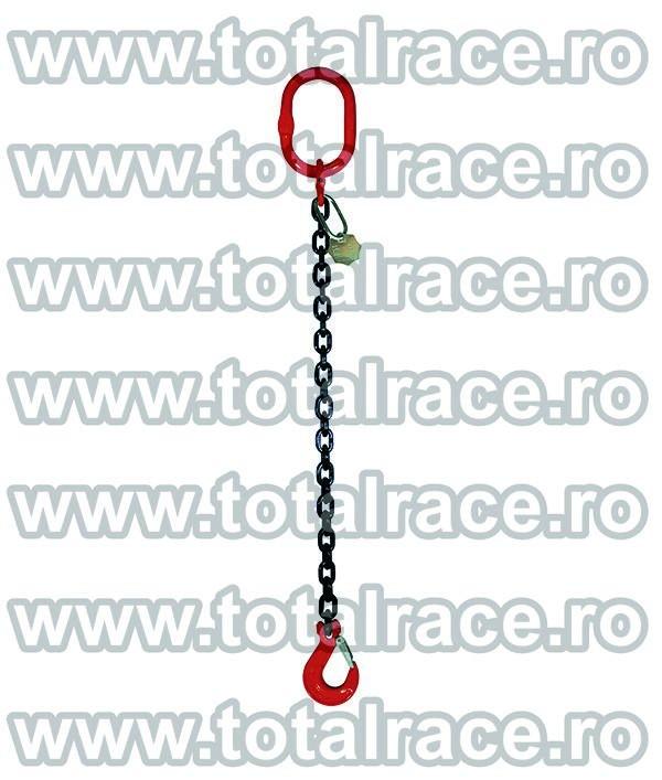 Dispozitiv de ridicare din lant cu 1 brat 20 mm 9 m
