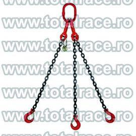 Dispozitiv de ridicare din lant cu 3 brate 6 mm 2 m