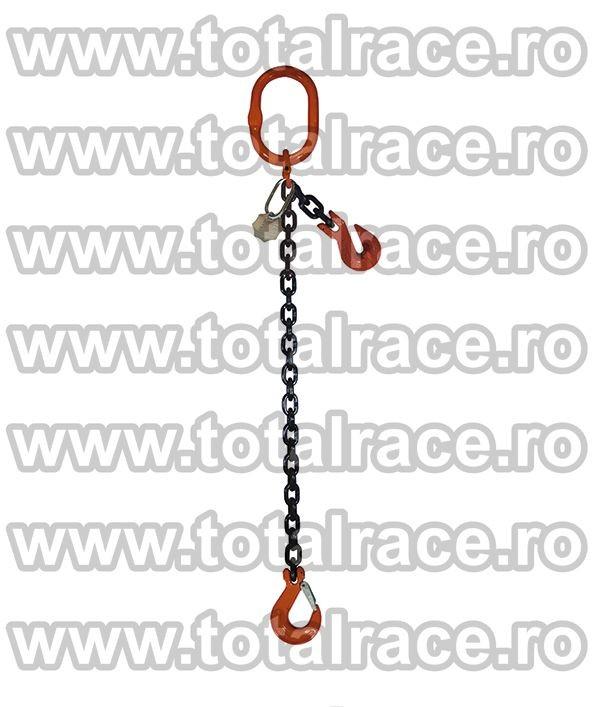 Dispozitiv de ridicare din lant cu 1 brat 20 mm 7 m