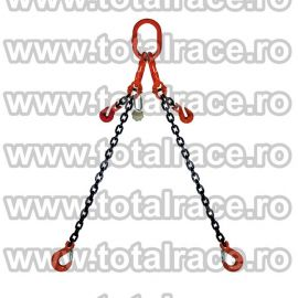 Dispozitiv de ridicare din lant cu 2 brate 6 mm 5 m