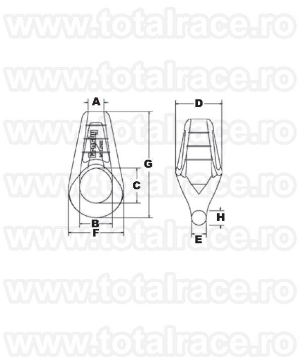 G517 Mooring Socket / Papuc cablu  acostare - amarare
