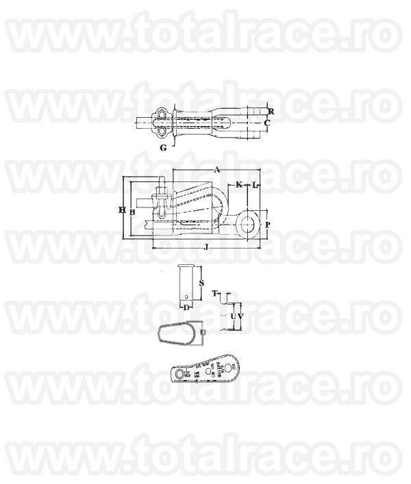 S421T - Wedge Socket