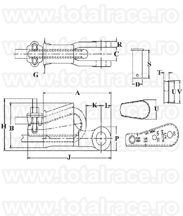 US422T - Wedge Socket with Terminator Wedge